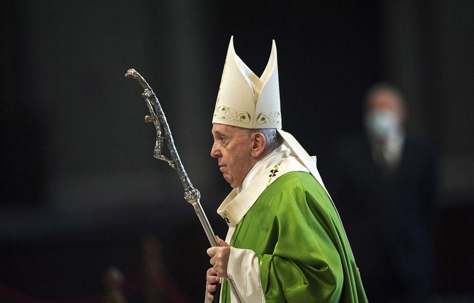 Papież zdymisjonował biskupa z USA oskarżanego o tuszowanie pedofilii