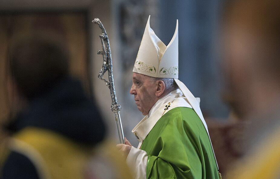 Franciszek złożył Polakom życzenia na Boże Narodzenie