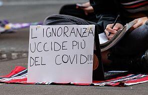 Raport: hamuje wzrost zakażeń, rośnie liczba zgonów na Covid-19