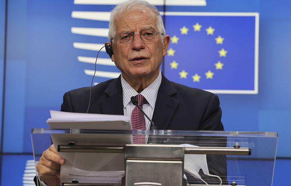 UE: Borrell zapowiada sankcje wobec przedsiębiorstw na Białorusi