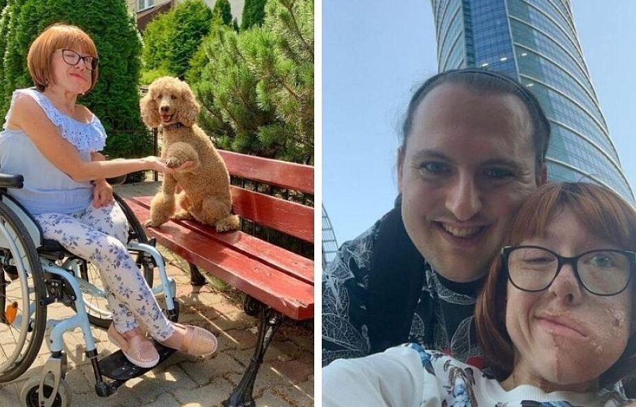 Kasia ma 30 lat, raka, wózek inwalidzki i cudownego mężczyznę. Z życia wyciska, co się da
