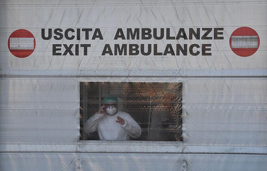 Liczba zmarłych we Włoszech od początku pandemii przekroczyła 50 tys.