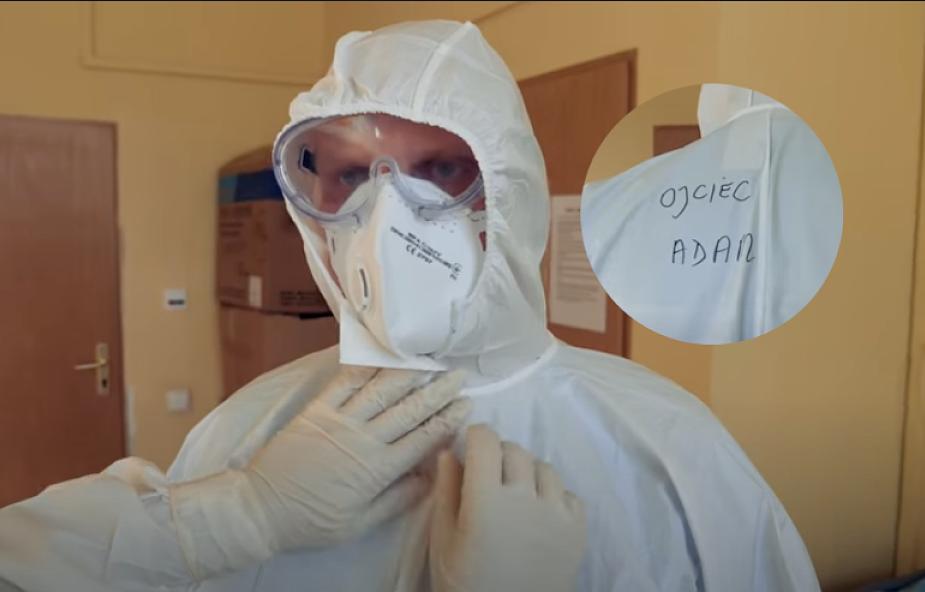 """Adam Szustak OP trafił na oddział COVID. """"Chciałem Wam pokazać, jak to wygląda od środka"""""""