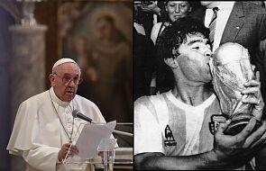 Tak papież Franciszek zareagował na wieść o śmierci Maradony