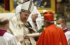 Papież mianował dzisiaj trzynastu nowych kardynałów