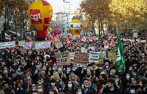 Francja: protesty w wielu miastach przeciwko ustawie o bezpieczeństwie globalnym; policja użyła gazu