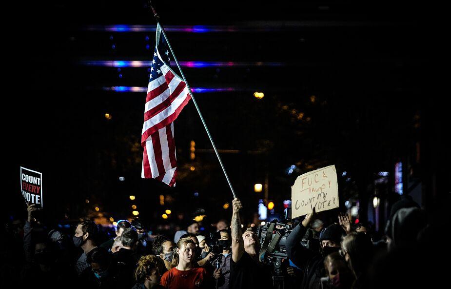 Wciąż trwa liczenie głosów w wyborach w USA, decydująca może okazać się Pensylwania