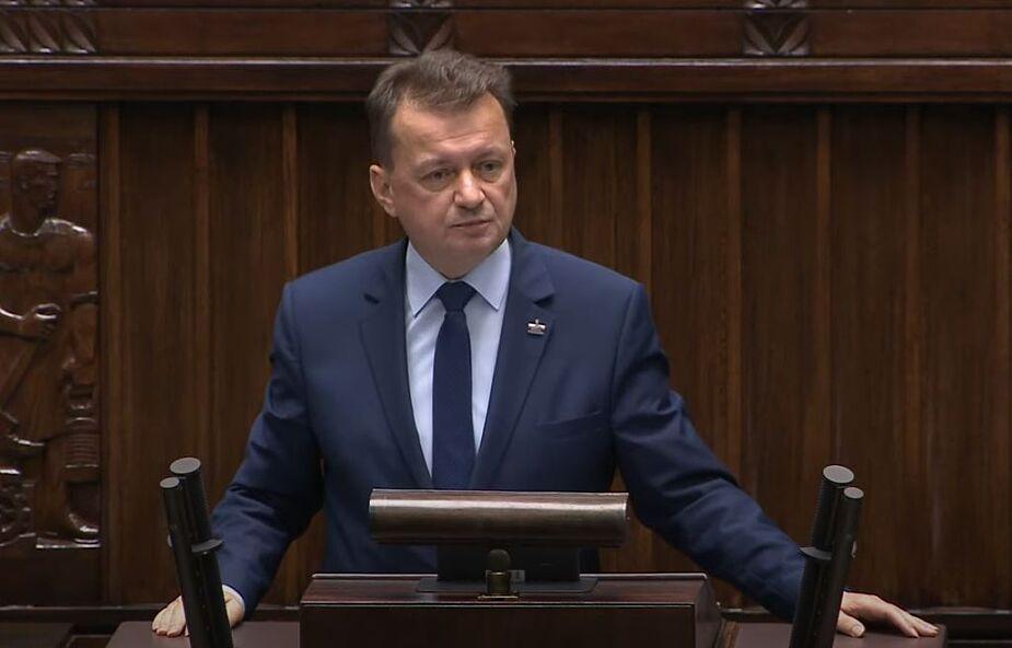 Szef MON: Wojsko wspiera już prawie 500 szpitali w całej Polsce