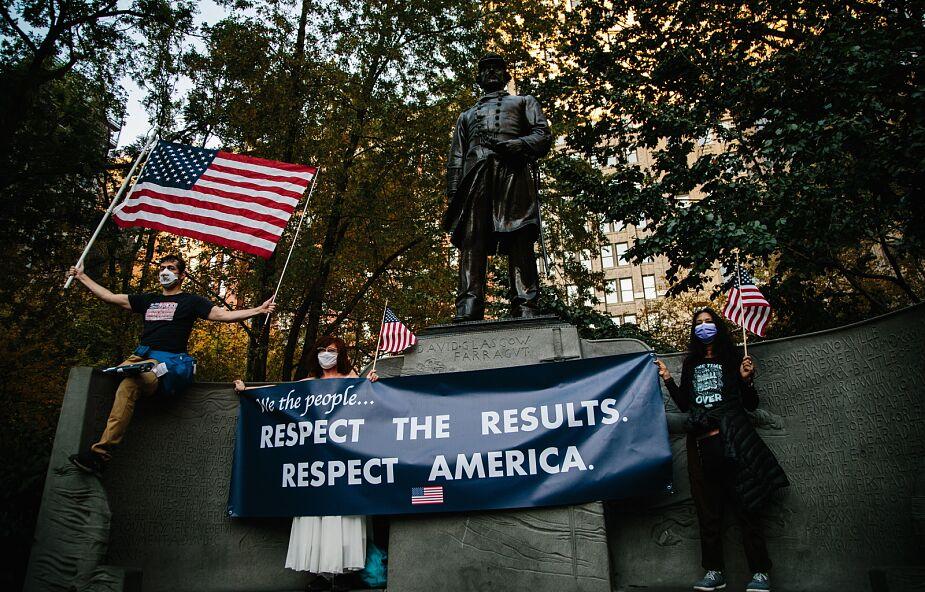 USA: Waszyngton tańczy z radości po wygranej Bidena