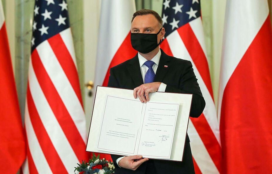 Prezydent Duda ratyfikował polsko-amerykańską umowę o wzmocnionej współpracy obronnej