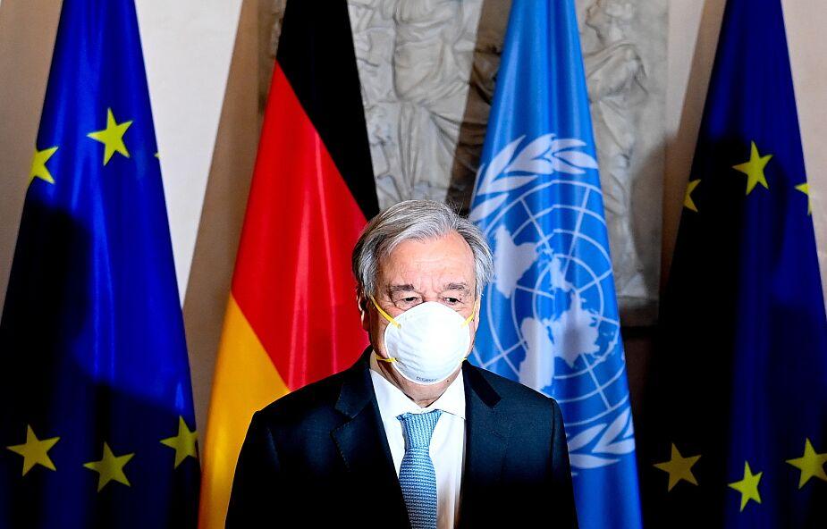 Sekretarz generalny ONZ otrzyma Lampę Pokoju z Asyżu