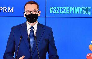 Morawiecki: nie wprowadzamy godziny policyjnej w Sylwestra, tylko apelujemy o nieprzemieszczanie się