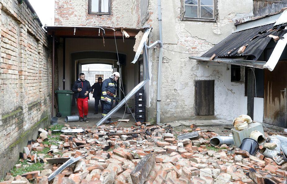 UE: pomoc nadzwyczajna dla Chorwacji po niszczycielskim trzęsieniu ziemi