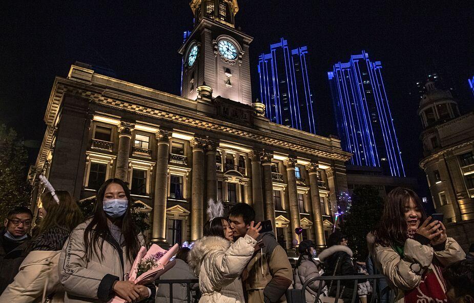 Chiny powitały Nowy Rok 2021 bez większych ograniczeń