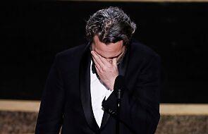 """Poruszające przemówienie Joaquina Phoenixa. """"Byłem w swoim życiu łajdakiem, byłem samolubny i okrutny"""""""