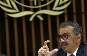 Szef WHO: epidemia koronawirusa wciąż może pójść w dowolnym kierunku