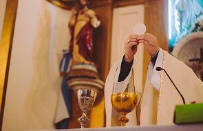 Dwa tygodnie bez Mszy, brak liturgii w Środę Popielcową. To skutki tragedii