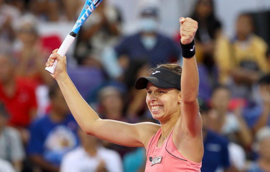 Magda Linette pokonała Szwajcarkę Leonie Kueng 6:3, 6:2 w finale tenisowego turnieju WTA