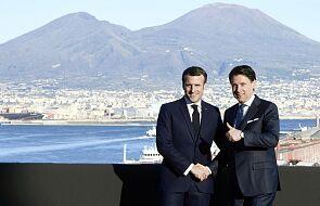 Macron: Francja nie zamknie granic z Włochami