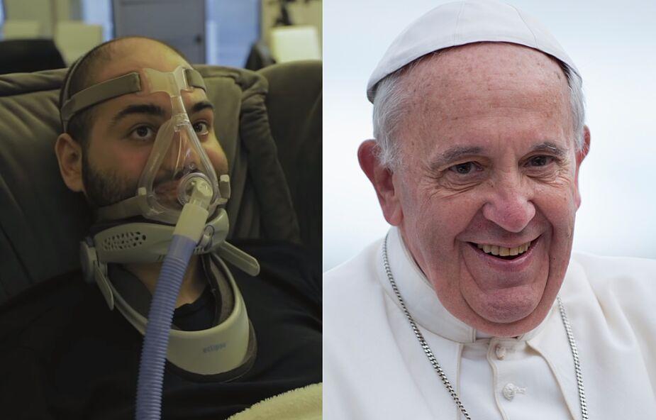 Papież Franciszek spotkał się ze sparaliżowanym raperem