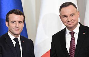 Prezydent: wierzę, że wizyta prezydenta Macrona to przełom w relacjach polsko-francuskich