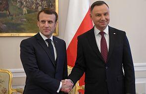 Rozpoczęła się oficjalna wizyta prezydenta Francji w Polsce