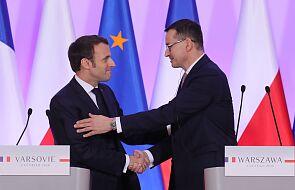 Morawiecki: Polska i Francja potwierdziły swoje partnerstwo strategiczne; chcemy budować silną Europę