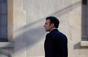 Macron: bezpieczeństwo europejskie musi opierać się na czterech filarach