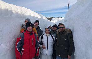 Chłopaki z Broniszewic na wyjątkowym zimowym wyjeździe