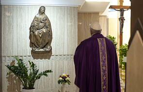 """Papież u św. Marty: """"Módlmy się za chorych i za prześladowanych za wiarę"""""""