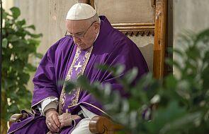 Rzym: Franciszek włączył się w modlitwy w intencji chorych na koronawirusa