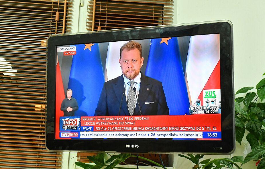Szumowski: minister zdrowia i wojewodowie będą mogli delegować personel medyczny do walki z epidemią