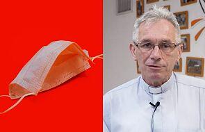Z inicjatywy księdza Puzewicza ruszyła fabryka maseczek ochronnych