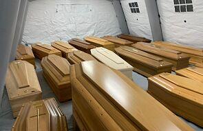 Włochy/ Wojsko wywiozło z Bergamo trumny z ciałami 70 osób