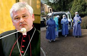 """Kardynał Krajewski odwiedził  ze wsparciem zakażone siostry. """"To znak jedności papieża z Nimi"""""""