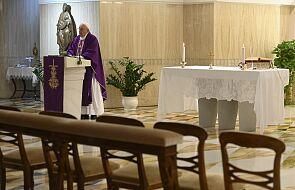 Franciszek u św. Marty modlił się o przezwyciężenie strachu