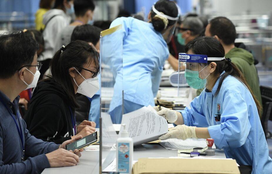 Chiny: służby medyczne zgłosiły nową lokalną infekcję koronawirusem