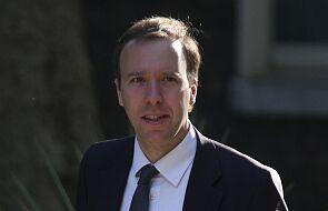 W. Brytania: Minister zdrowia Hancock również ma koronawirusa