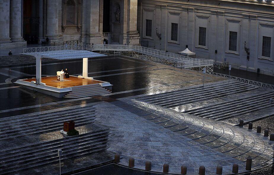 Papież na pustym placu św. Piotra: przyjmijmy Boga, aby przyjąć nadzieję