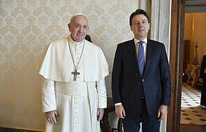 Papież przyjął premiera Włoch na prywatnej audiencji