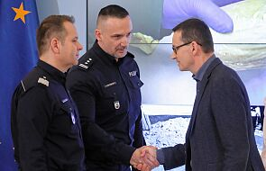 Premier: polskie służby udaremniły przemyt heroiny wartej ponad 60 mln zł