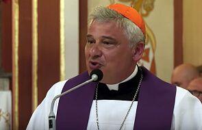 Kard. Krajewski zawiózł papieskie dary do ośrodka pomocy w Kalabrii