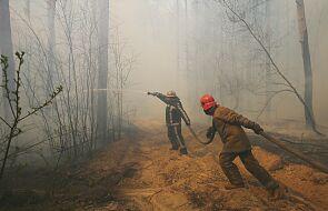 Ukraina: pożar wokół elektrowni w Czarnobylu dotarł do Prypeci, jest 2 km od składu odpadów