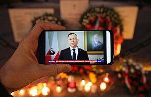 Prezydent: Katyń to dla Polaków walka o prawdę i pamięć