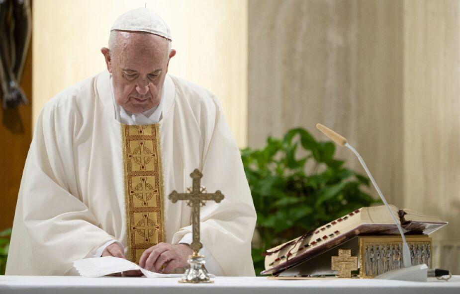 Franciszek modlił się za pracowników służby zdrowia opiekujących się niepełnosprawnymi i podkreślił konieczność odważnego głoszenia wiary