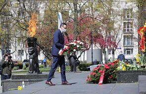 Warszawa: dźwiękiem syren i wirtualną akcją Żonkile uczczono 77. rocznicę wybuchu powstania w getcie
