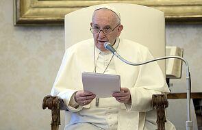 Papież wezwał do zaangażowania w troskę o środowisko naturalne