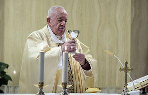 Franciszek modlił się w intencji Europy i zachęcił do postrzegania rzeczywistości oczyma Boga