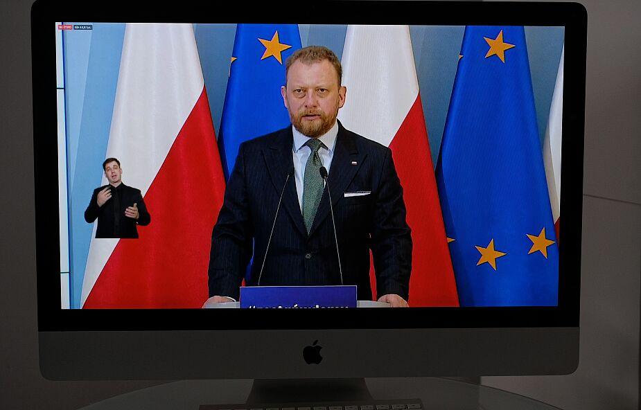 Szumowski: szczyt zachorowań może nastąpić jesienią