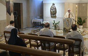 """Papież w homilii: """"niech Pan obdarzy nas wszystkich w tym czasie łaską kreatywności"""""""
